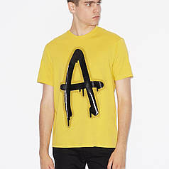 Мужская футболка Armani Exchange Yellow S