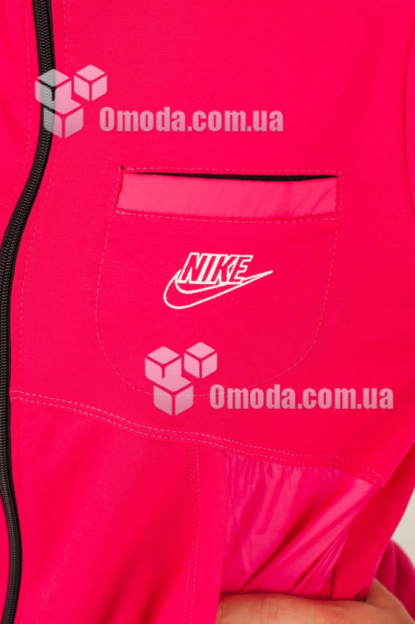 Женский розовый спортивный костюм в стиле Nike