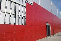 Монтаж вентилируемых фасадов из алюминиевого композита, фиброцемента, HPL-панелей