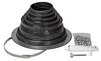 КОМПЛЕКТ уплотнитель из EPDM - резины для труб   (диаметр 75-150), фото 1