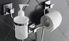 Настінні аксесуари для ванної з нержавіючої сталі