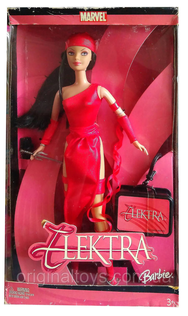 Коллекционная кукла Барби Электра Barbie Elektra 2005 Mattel H1699