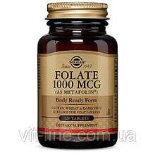 Solgar, Фолієва кислота, 1000 мг, 120 таблеток