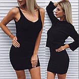 Женское платье с кофтой пудра, фото 6