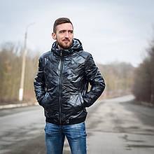 Чоловіча демісезонна куртка Giorgio Armani, сірого кольору