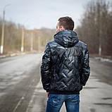 Чоловіча демісезонна куртка Giorgio Armani, сірого кольору, фото 2