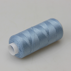 Нитки швейные 40/2 Kiwi 400 ярдов тон 328 небесно-голубой