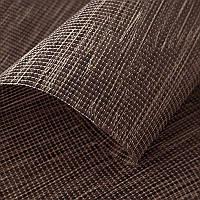 Тканевая ролета натуральная ткань цвет Wenge 5105