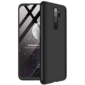 Чехол GKK 360 для Xiaomi Redmi Note 8 Pro бампер оригинальный Black