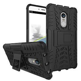 Чехол Armor для Xiaomi Redmi Note 4 / Note 4 Pro MTK Противоударный Бампер черный