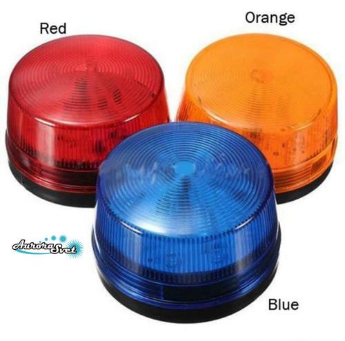 Сигнальная лампа.Сигнальный маячок оранжевый 12v.