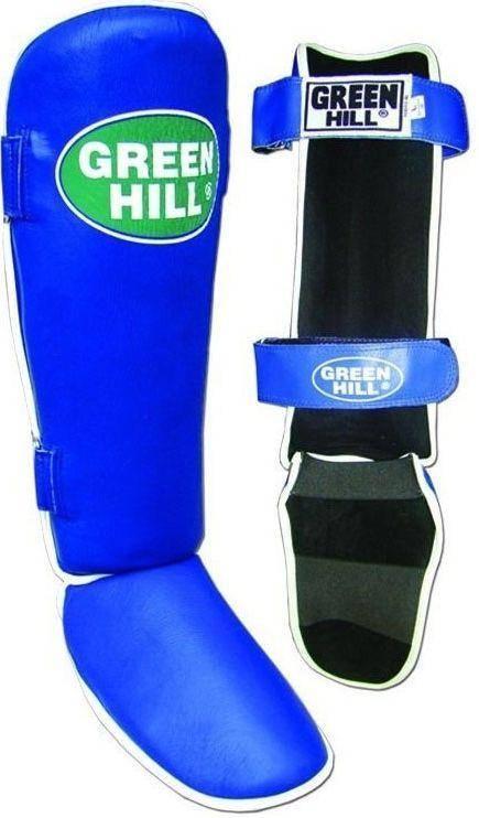 """Защита голени и стопы """"CLASSIC"""" Green Hill (синяя)"""
