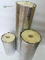 Теплоизоляционная скорлупа из пенополиуретана, с фольгоизолом, D 18мм, толщина слоя изоляции 40 м
