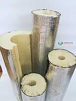 Теплоизоляционная скорлупа из пенополиуретана с фольгоизолом D 25мм, толщина изоляции 40 мм