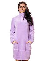 Теплое платье с карманами (S-3XL в расцветках)