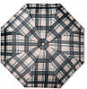 Стильный женский зонт из понжа, полуавтомат Susino 3009-4