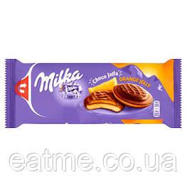 Milka Choco Jaffa Печенье с апельсиновым джемом