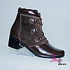 Стильні жіночі черевики з натуральної шкіри