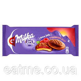 Milka Choco Jaffa Печенье с малиновым джемом