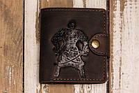 Кожаный кошелек вестерн S, Казак Мамай, фото 1