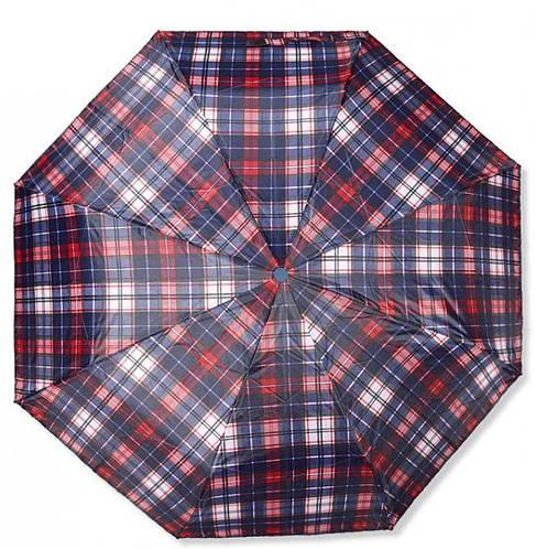 Практичный женский зонт из понжа, полуавтомат Susino 3009-6