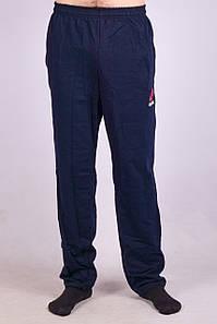 Спортивные брюки мужские  Reebok SB01-6. Темно-синий. Размер 62