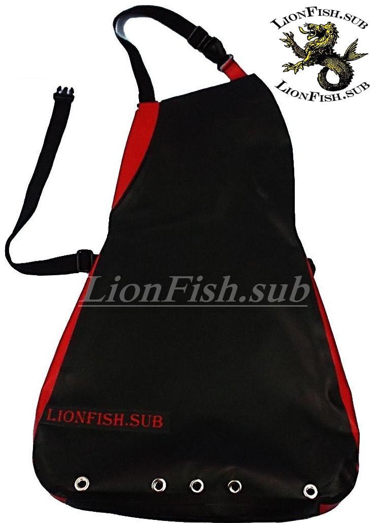 Сумка Нагрудная LionFish.sub для Морепродуктов и Раков (МАЛАЯ; Карман Справа); Питомза ПВХ