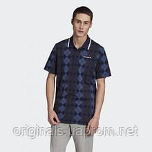 Мужское поло adidas Argyle Polo Shirt FM3361 2020