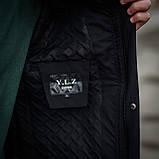 Чоловіча демісезонна куртка, чорного кольору, фото 8