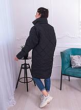 """Женская демисезонная куртка на синтепоне """"TRANSFORMER"""" со съемными рукавами, фото 3"""
