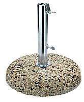 Основа (подставка) 25 кг из цемента и стали для пляжного и садового зонта