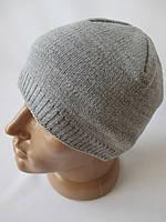 Трикотажные шапки для мужчин на зиму.