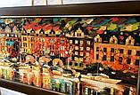 """Картина из янтаря """" Венецианская  ночь """" 40x90 см, фото 2"""
