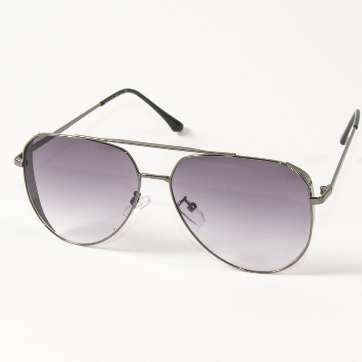 Оптом солнцезащитные очки авиаторы (арт. B80-315/2) фиолетовые