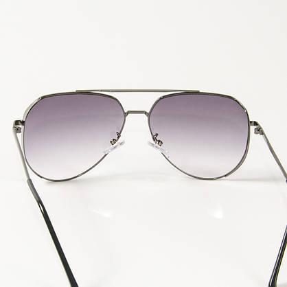 Оптом солнцезащитные очки авиаторы (арт. B80-315/2) фиолетовые, фото 3