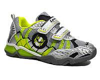 Оригинальные кроссовки Bi&ki трансформер мигалки для мальчика 27-32 р