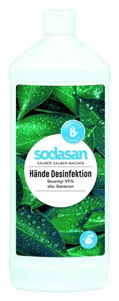 Антибактериальное средство для рук Sodasan, 1 л