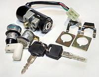 "Замки Honda DIO AF-18, TACT 24 (комплект) 4 провода ""MT"""