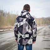 Чоловіча демісезонна куртка, сірого кольору, фото 4