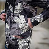 Чоловіча демісезонна куртка, сірого кольору, фото 6