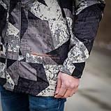 Чоловіча демісезонна куртка, сірого кольору, фото 8