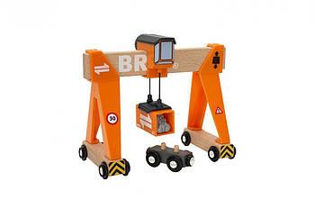 BRIO World АКСЕССУАРЫ МТК BRIO Большой портовый мостовой кран 33732
