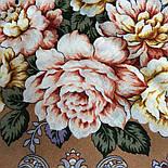 Сибирская красавица 1873-16, павлопосадский платок шерстяной  с шелковой бахромой, фото 2