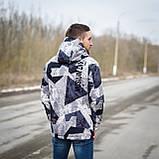 Чоловіча демісезонна куртка, сірого кольору, фото 5