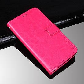Чехол Idewei для Xiaomi Redmi Note 3 SE / Note 3 Pro Special Edition 152 книжка малиновый