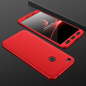 Чехол GKK 360 для Xiaomi Redmi Note 5A Pro / Note 5A Prime 3/32 Бампер Red