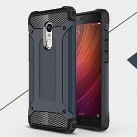 Чехол Guard для Xiaomi Redmi Note 3  / Note 3 pro Бампер бронированный Immortal черный