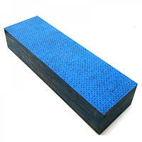 Брусок Мікарта синт.тканина койот. колір блакитний 25х40х130 мм.