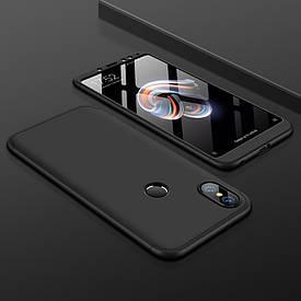 Чехол GKK 360 для Xiaomi Redmi S2 бампер оригинальный накладка Black