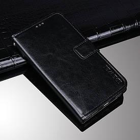 Чехол Idewei для Xiaomi Redmi 6A книжка кожа PU черный